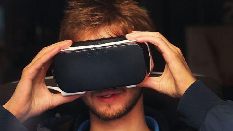 Visor de realidade virtual do Note 7