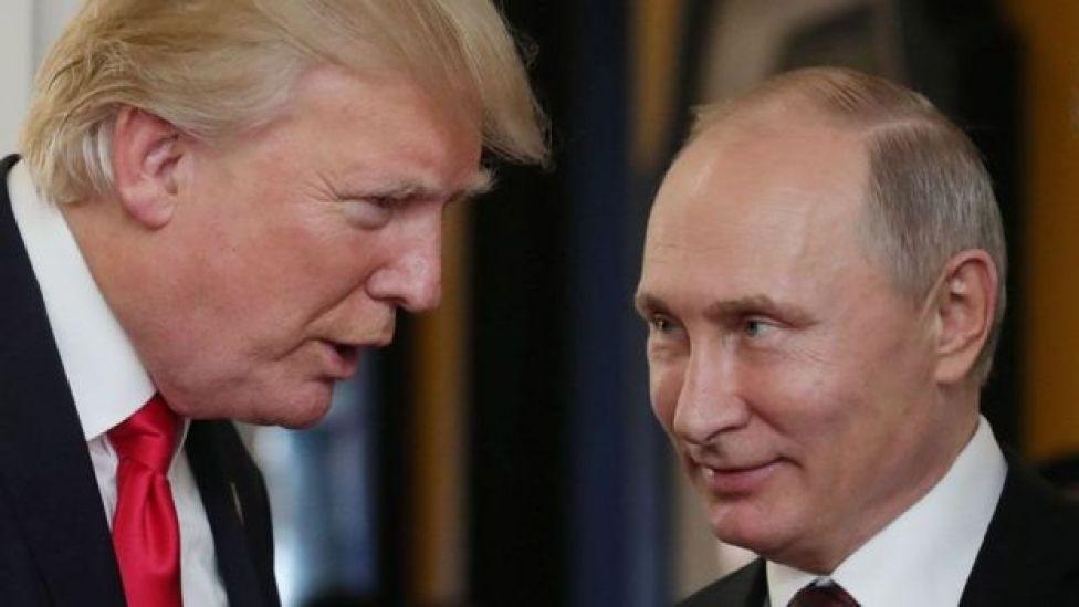 Mr Putin iyo Mr Trump