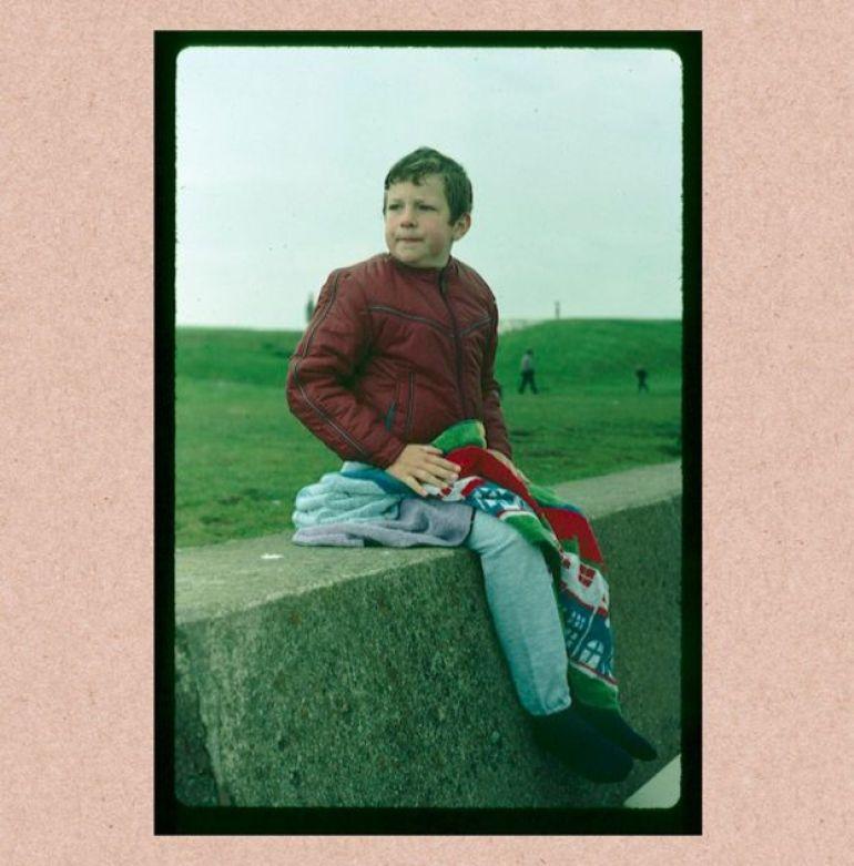 Matt Merry de niño.