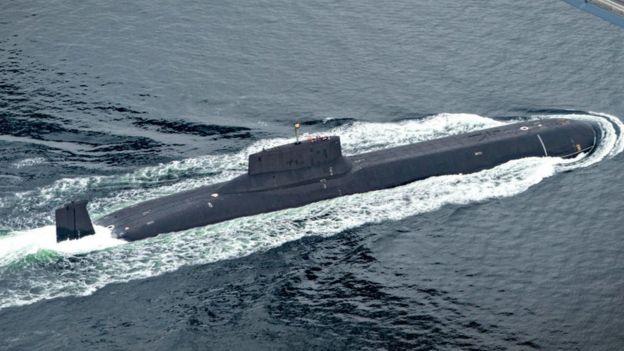 Submarino russo