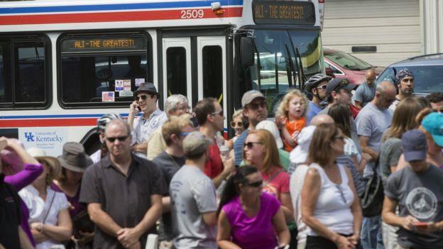 Louisville city bus - 10 June