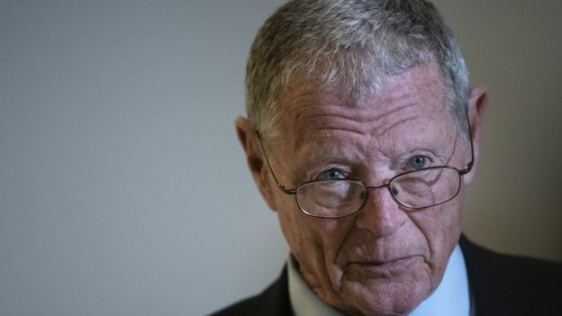 James Inhofe of Oklahoma