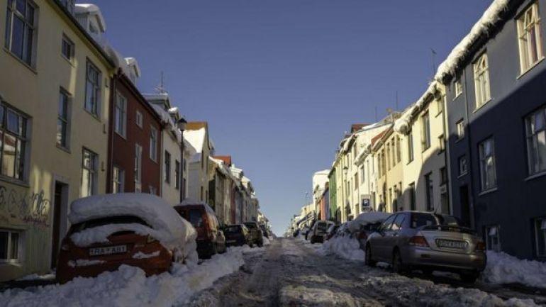 Calles de Reikiavik