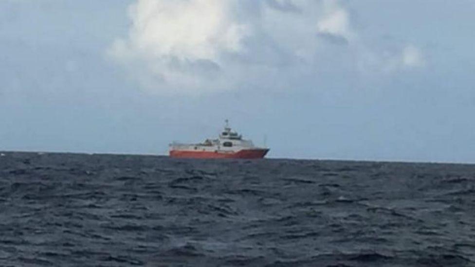 Tàu Hải Dương Đại chất 8.