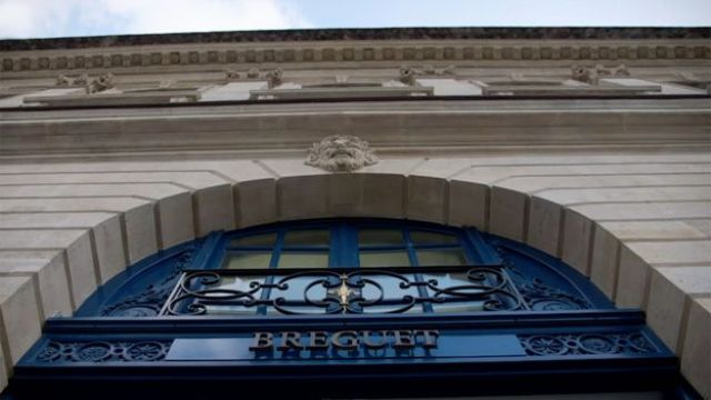 Breguet en Place Vendome, París