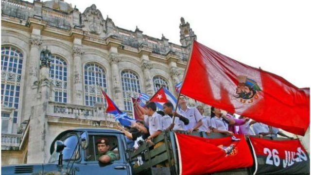 Palacio Presidencial de Cuba.