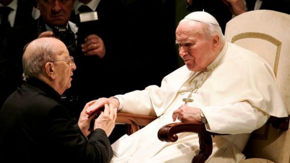 Marcial Maciel e Papa João Paulo 2º