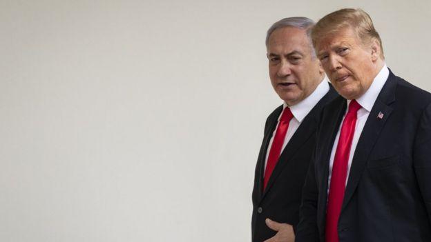 Trump y Netanyahu.