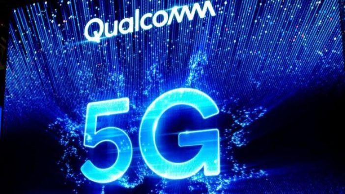 Logo de Qualcomm con 5G