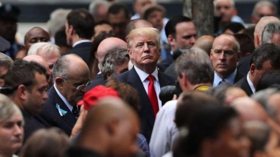 Donald Trump da eyni mərasimə qatılıb