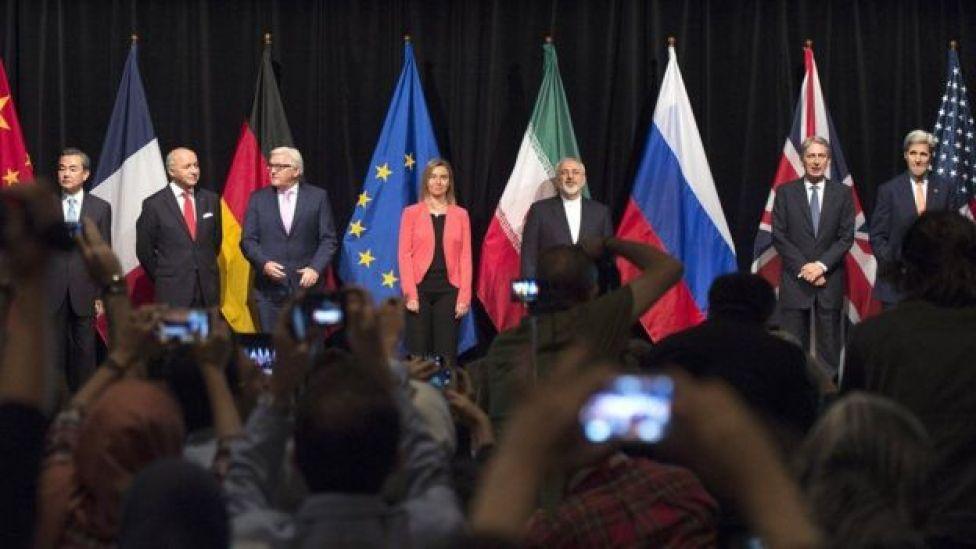 Firma del acuerdo con Irán