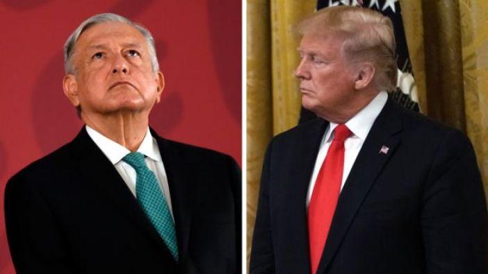 AMLO y Trump