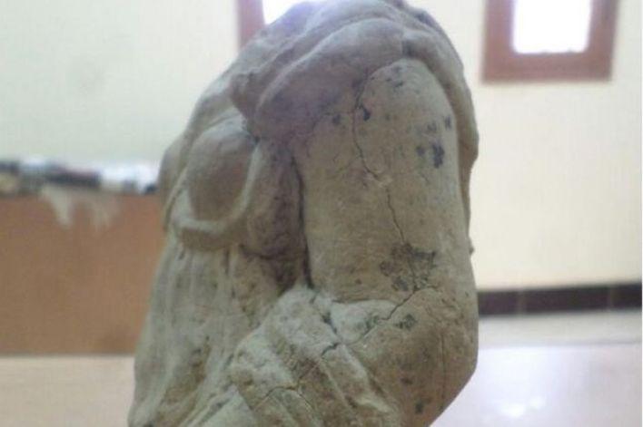 يرجع التمثال غير المكتمل الذي عثر عليه قرب أسوان إلى العصر الأغريقي- الروماني
