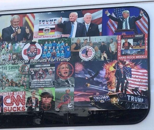 fotografías de la furgoneta del sospechoso.