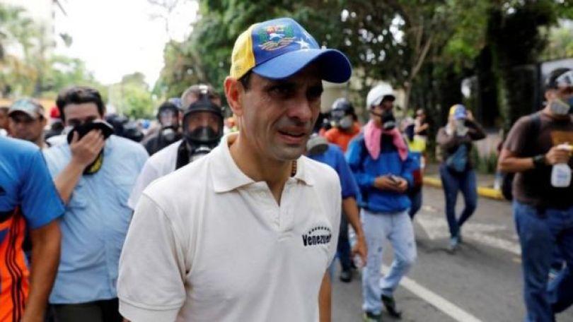 Líder de la oposición Henrique Capriles.