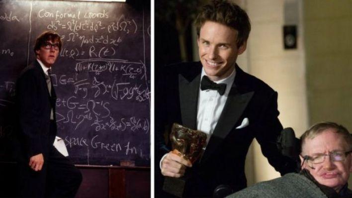 Benedict Cumberbatch and Stephen Hawking