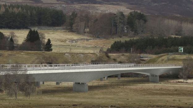 Option two for River Spey crossing