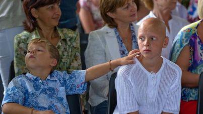 """Algunos de los participantes en el programa """"Niños de Chernóbil"""""""
