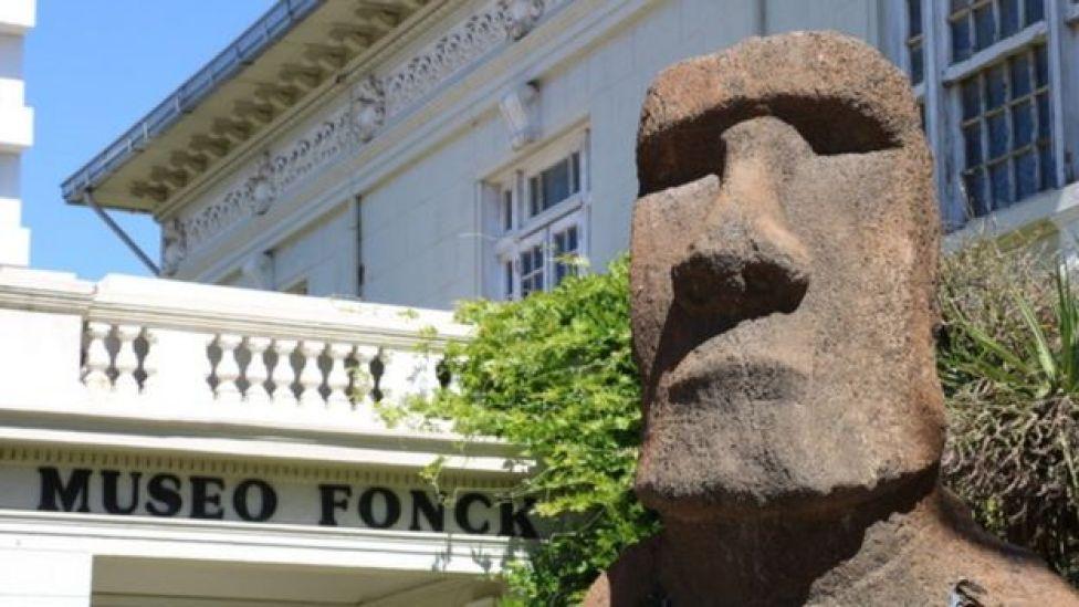 moai de Viña del Mar