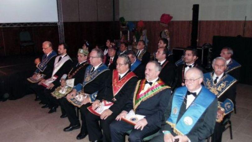 Maçons em evento realizado em Salvador