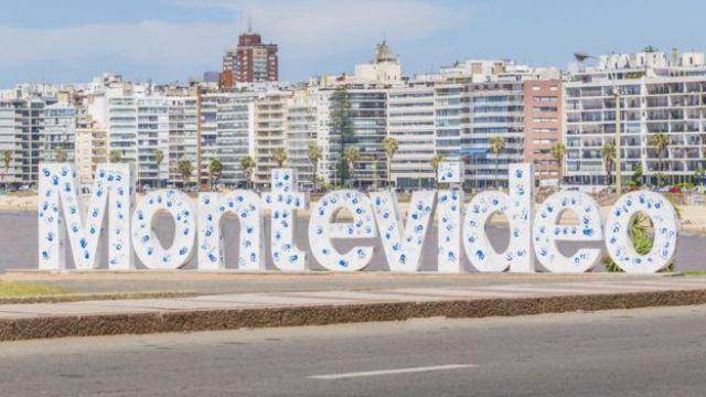 Foto de Montevideo, capital de Uruguay.