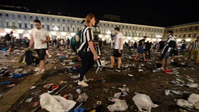 Piazza San Carlo, Turin, 3 June 2017