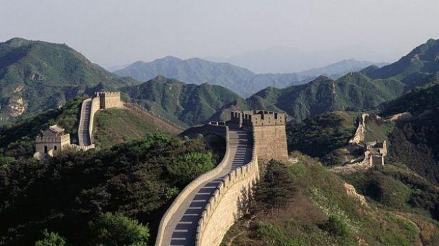 Sección de la Gran Muralla China