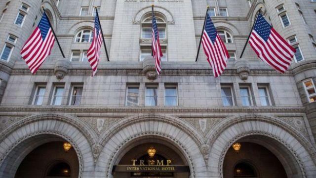 Fachada del Trump International Hotel