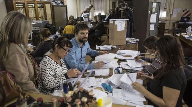 El recuento definitivo en La Plata.