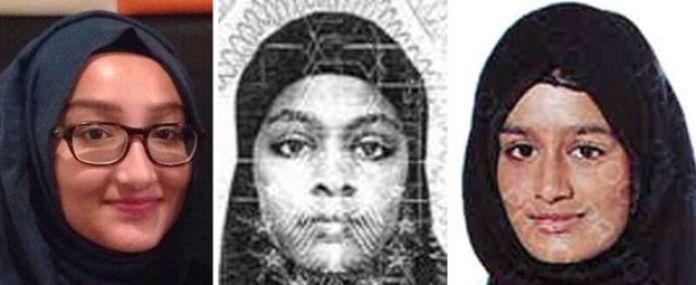 Kadiza Sultana, Amira Abase,Šamima Begam