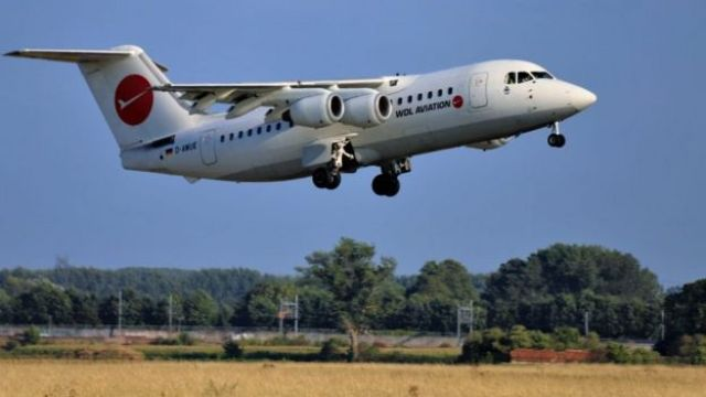 WDL Aviation BAe 146 plane