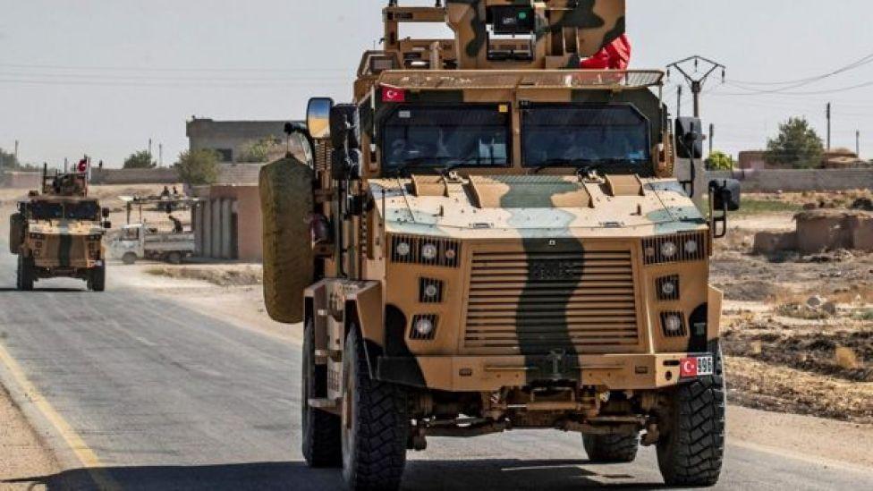 مركبة عسكرية تركية