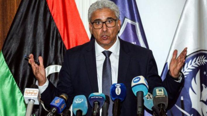 وزير الداخلية الليبي فتحي علي باشا آغا