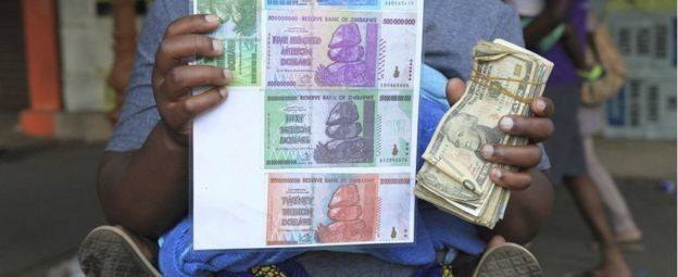 Image result for zimbabwe currency problems