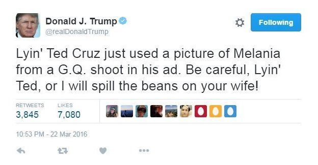 Image result for Tweet Trump 2016  election
