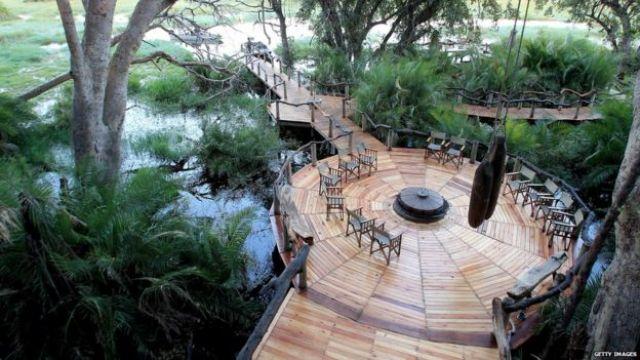 Resort en Botswana