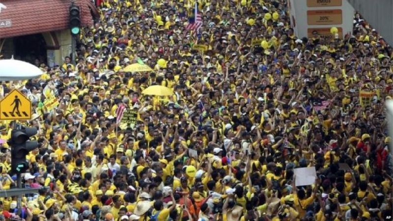 Image result for malaysia pm protest rally