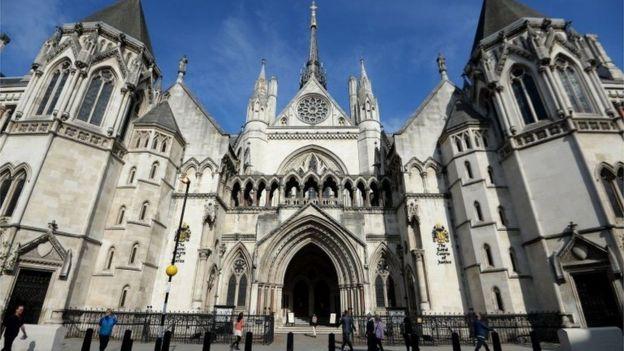 Tribunal en Londres