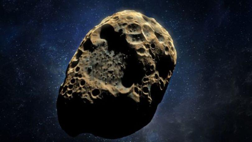 Concepção artística de asteroide