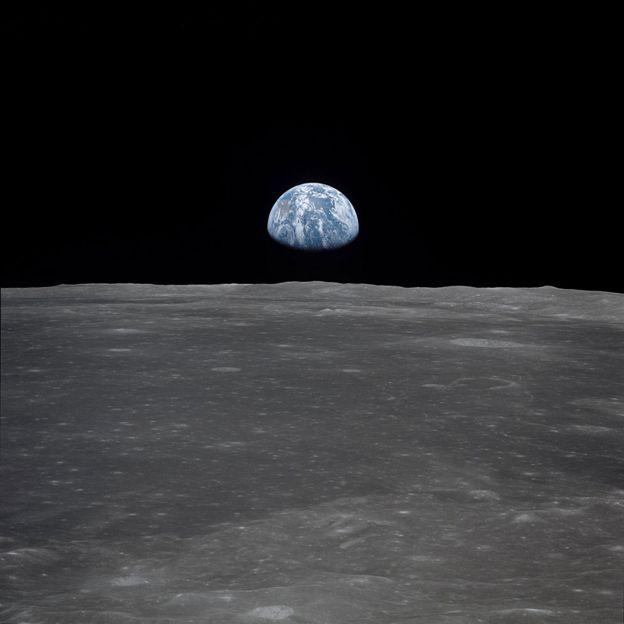 La Tierra vista desde la Luna