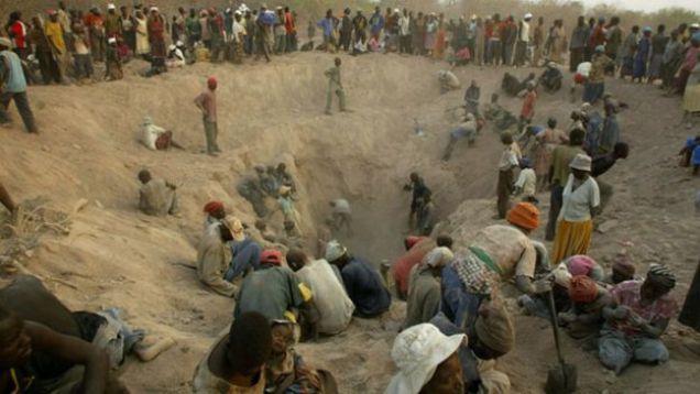 artisinal miners in marange