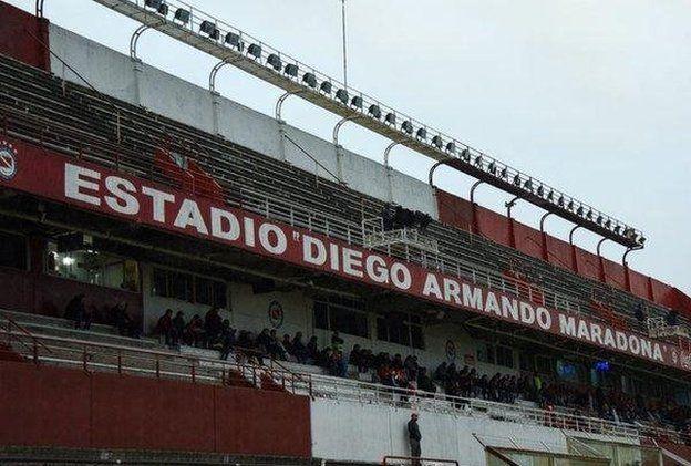 Estadio Diego Armando Maradona de Argentinos Juniors.
