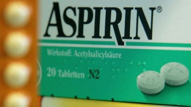 Caja de Aspirina