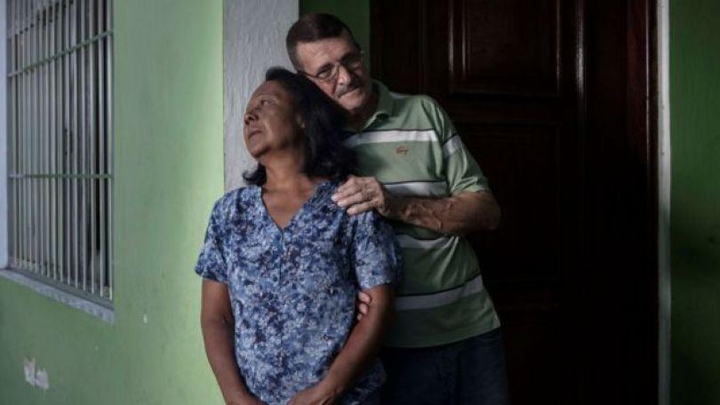 Dalva e Carlos Campioto esperam há dez anos por uma informação sobre o filho, Leonardo de Souza Campioto, que desapareceu quando tinha 27 anos.