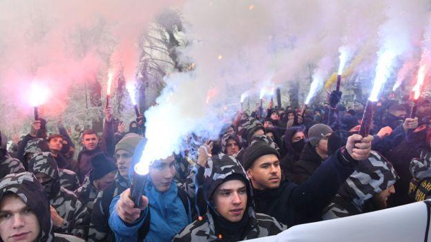 Biểu tình ở Kiev