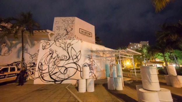 Restaurante La Leche de Puerto Vallarta, donde fue secuestrado el hijo de