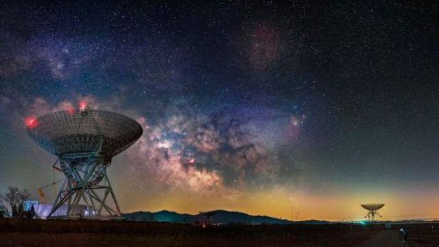 radio telescopios.