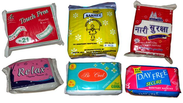 selection of packets showing brand names