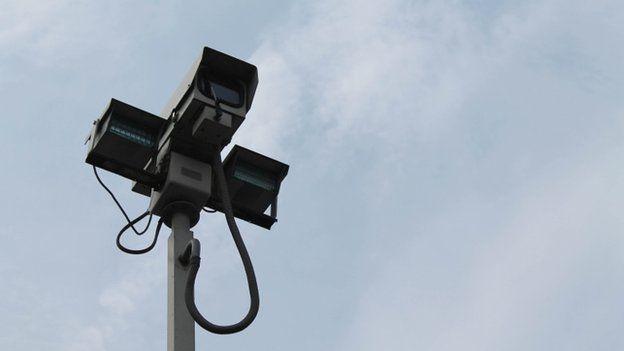 A CCTV camera