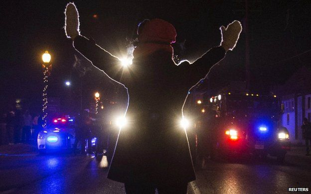ferguson unrest from shooting to